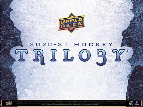 NHL 2020-21 UPPER DECK TRILOGY box #Hockey #NHL #アイスホッケー