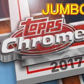 MLB 2017 TOPPS CHROME JUMBO BOX #JUDGE