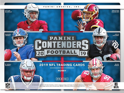 NFL 2019 PANINI CONTENDERS box #Football #アメフト #NFL #パニーニ