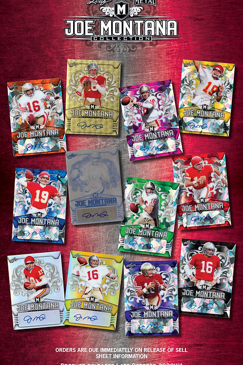 NFL 2020 LEAF JOE MONTANA COLLECTION box #JoeMontana #アメフト #NFL