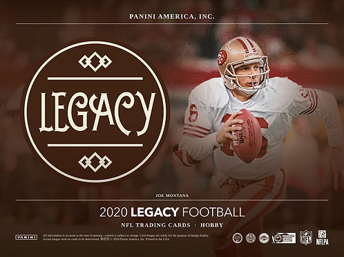 NFL 2020 PANINI LEGACY box #Football #アメフト #NFL #パニーニ