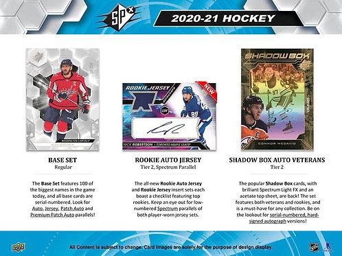 NHL 2020-21 UPPER DECK SPX box #Hockey #NHL #アイスホッケー