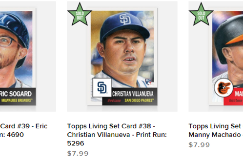 TOPPS LIVING SET Week13 3cards set #mlb #baseball #toppslivingset