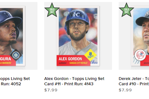 TOPPS LIVING SET Week4 3cards set #mlb #baseball #toppslivingset