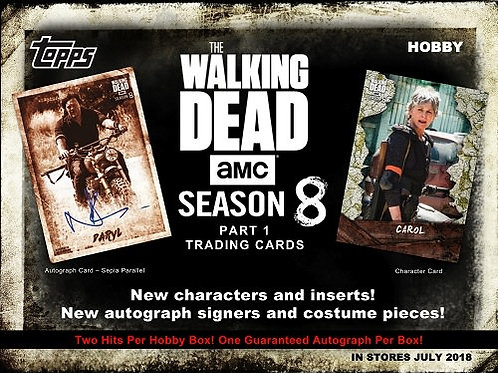 2018 Topps The Walking Dead Season8 Box