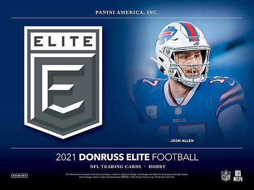 NFL 2021 PANINI ELITE Hobby box #Football #アメフト #NFL