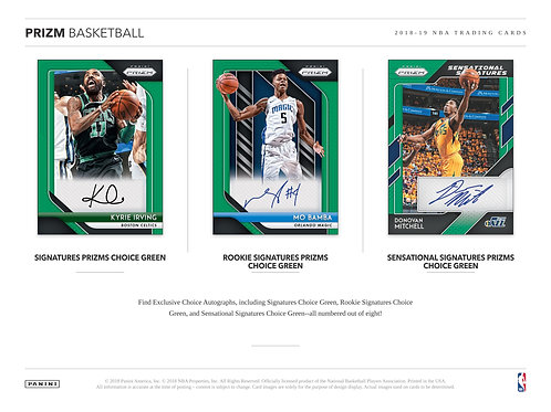 NBA 2018-19 Panini PRIZM MULTI box #バスケカード #NBA