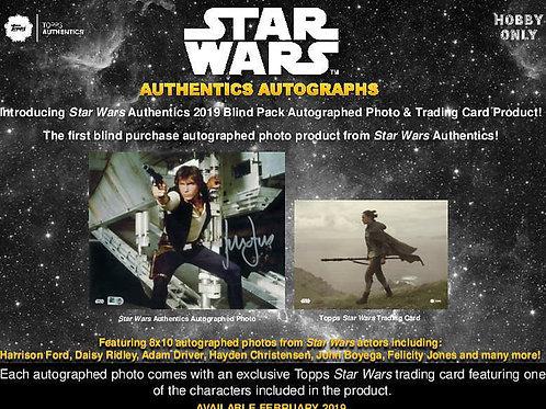 映画トレカ 2019 Topps Star Wars Authentics & Cards box #スターウォーズ