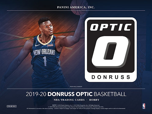 NBA 2019-20 Panini OPTIC Hobby box #NBA #ZION #八村塁 #JaMorant