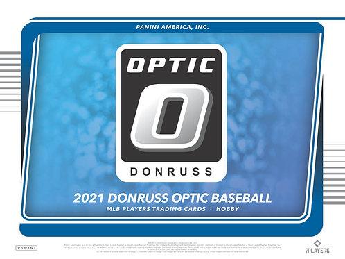 MLB 2021 PANINI OPTIC HOBBY Baseball box #PANINI #メジャーリーグ #野球カード
