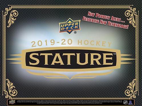 NHL 2019-20 UD Upper Deck STATURE Box #Hockey #NHL #アイスホッケー