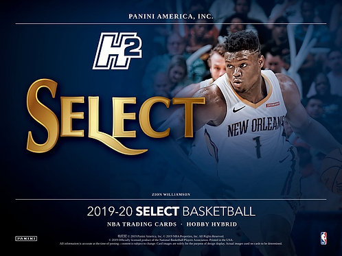 NBA 2019-20 Panini SELECT Hybrid pack #NBA #ZIONWILLIAMSON #八村塁 #JaMorant