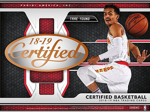 NBA 2018-19 Panini CERTIFIED Basketball box #バスケカード #NBA