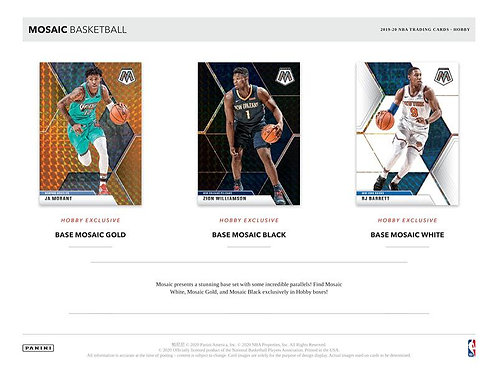 NBA 2019-20 Panini MOSAIC MULTI PACK Box #NBA #ZIONWILLIAMSON #八村塁 #JaMorant