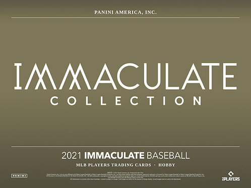 MLB 2021 PANINI IMMACULATE Baseball box 大谷翔平 選手 サインカードにラインナップ