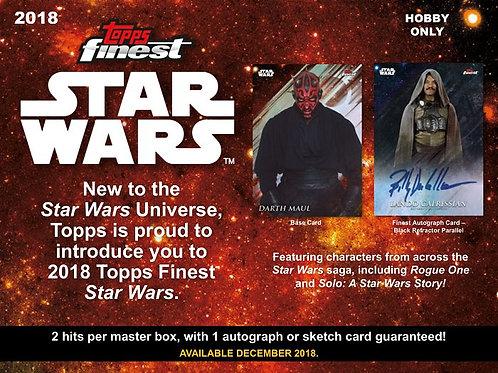映画トレカ 2018 Topps Star Wars FINEST box #スターウォーズ