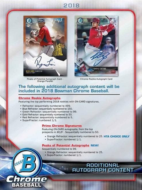 MLB 2018 BOWMAN CHROME Choice box #OHTANI #大谷翔平