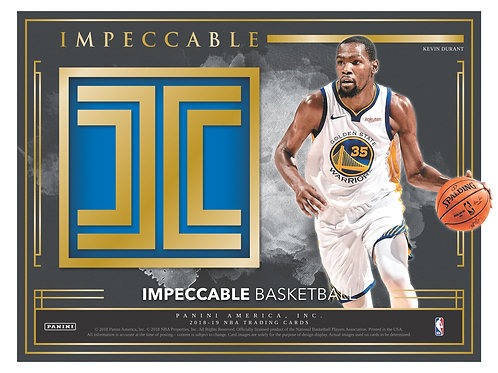 NBA 2018-19 Panini IMPECCABLE Basketball case 3box #バスケカード #NBA #Doncic