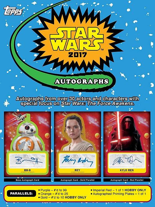 スターウォーズ 2017 TOPPS STAR WARS Journey to the Last Jedi #STARWARS