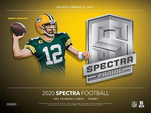 NFL 2020 PANINI SPECTRA box #Football #アメフト #NFL #パニーニ
