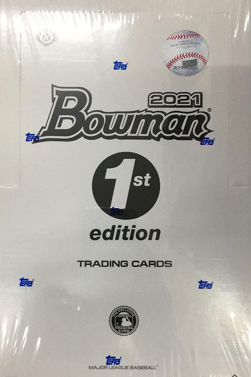 MLB 2021 BOWMAN 1st EDITION 山6パックセット #BOWMAN #TOPPS