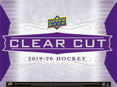 NHL 2020-21 UD CLEAR CUTS box #Hockey #NHL #アイスホッケー