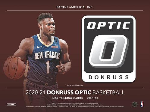 NBA 2020-21 Panini OPTIC CHOICE box #NBA #LameloBall #Panini