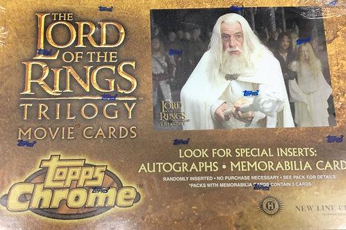 2004 TOPPS Lord of the Rings Chrome Trilogy box #TOPPS #映画 #指輪物語