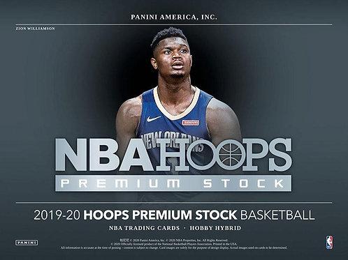 NBA 2019-20 Panini HOOPS PREMIUM STOCK Hobby box #NBA #ZIONWILLIAMSON #八村塁