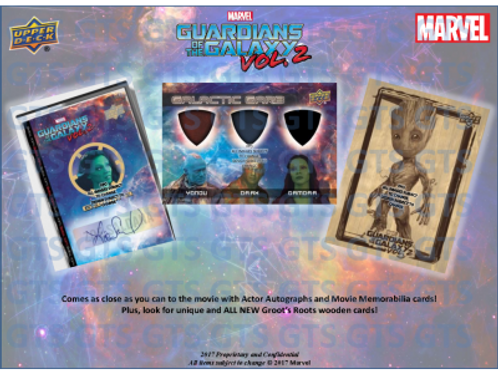 2017 Marvel Guardians of the Galaxy 2 #MARVEL