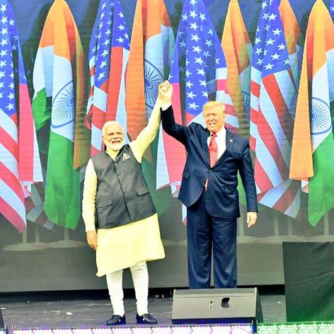 President Trump with PM Modi @Howdy Modi Event in Texas
