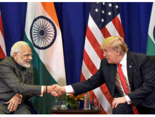 Trump Loves Modi !