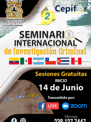 Seminario Internacional de Investigación  Criminal