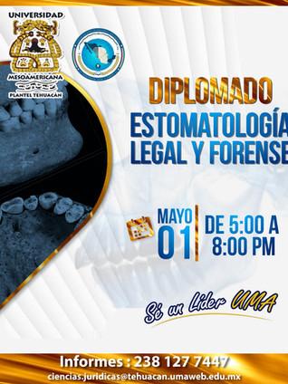 DIPLOMADO DE ESTOMATOLOGÍA LEGAL Y FORENSE
