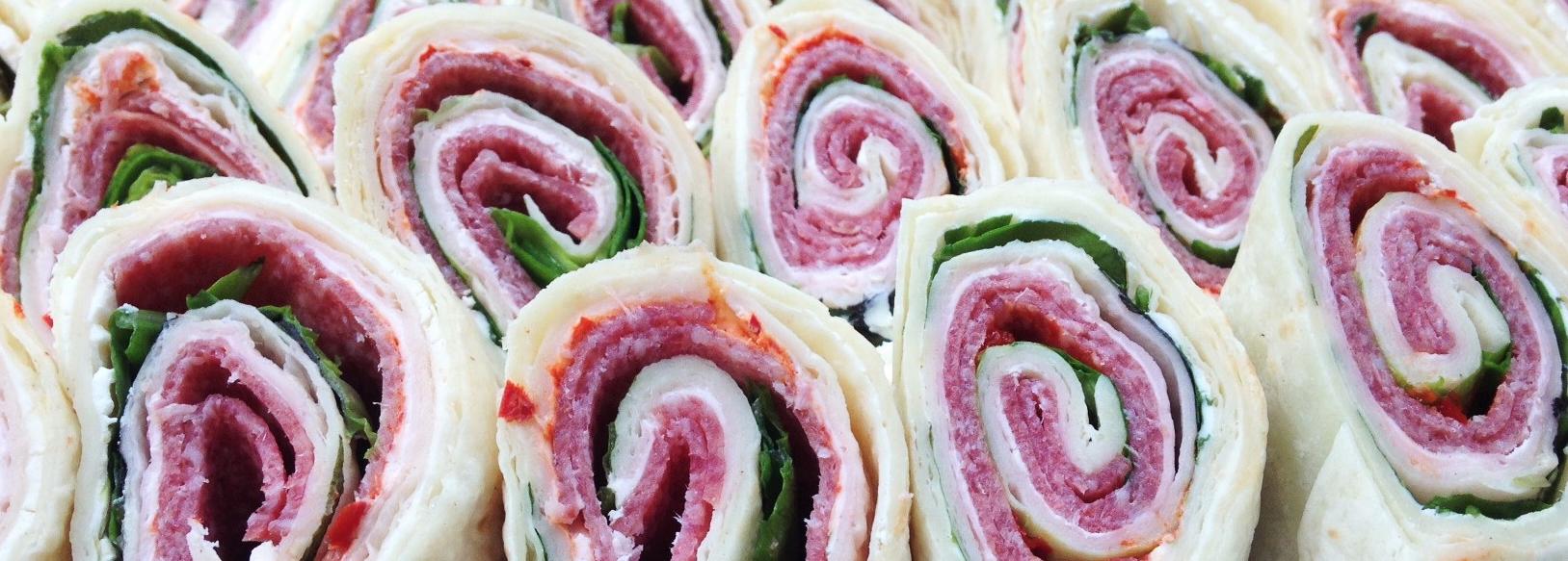 wraps salami