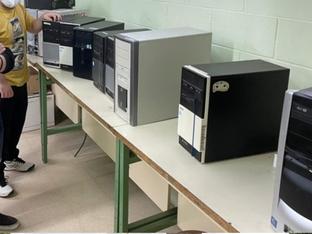 Aprofitament d'equips informàtics obsolets