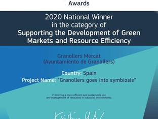 El programa «Granollers entra en Simbiosi» guanyador nacional dels Premis Europeus a la Promoció Emp