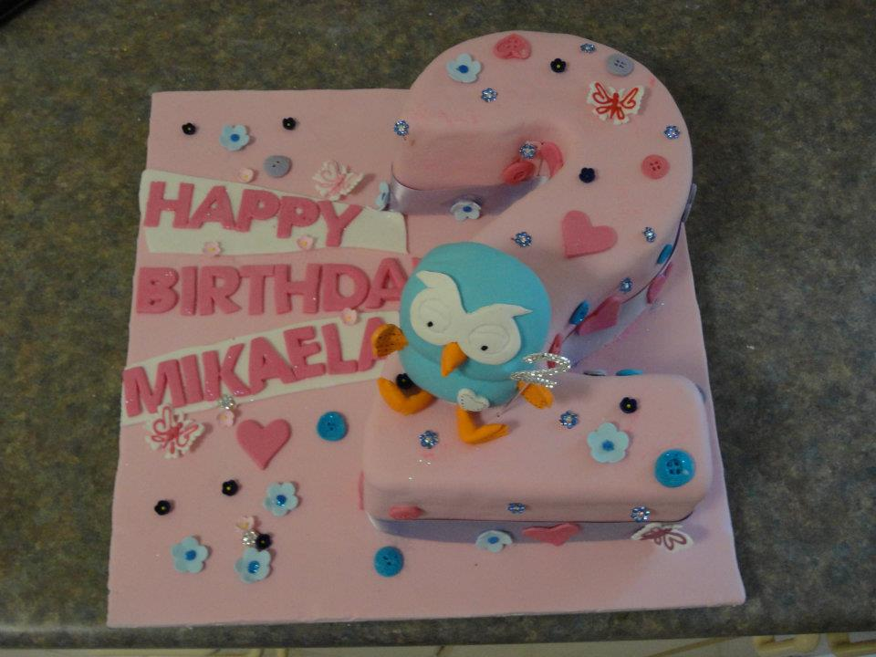 Kids cake Hoot