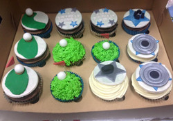 Sporty Cup Cakes