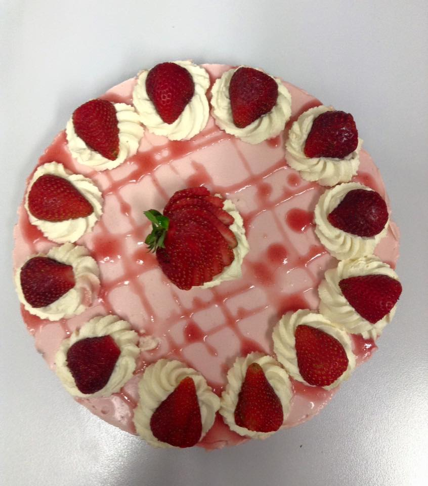 Strawberry chesse cake