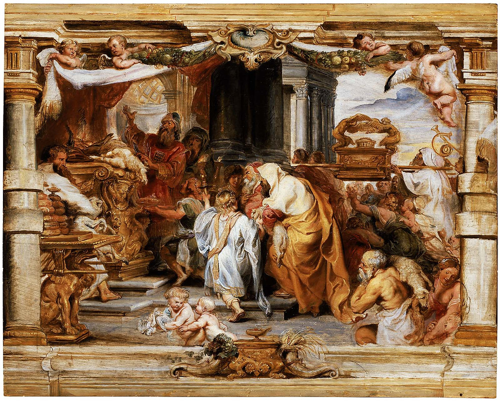 Sacrifice of the Old Covenant, Peter Paul Rubens