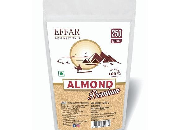 Effar Premium California Almond 250 g pack