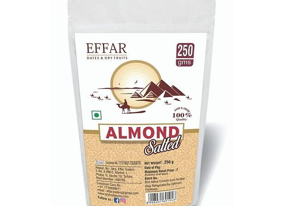 250g Salted California Almonds Badam