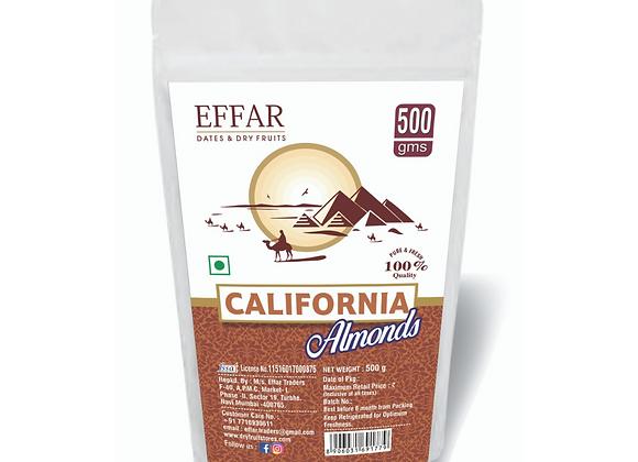 Effar California Almonds 500g Pack