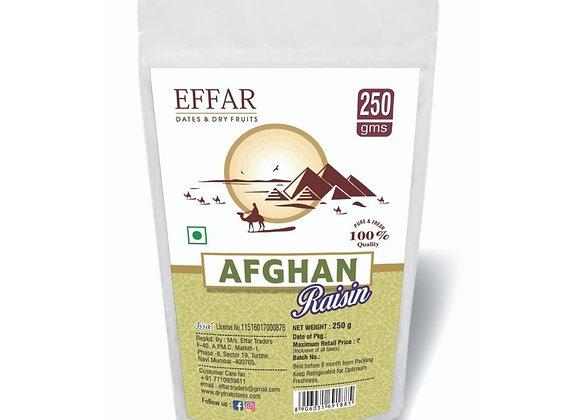 Afghan Raisin 250g pack