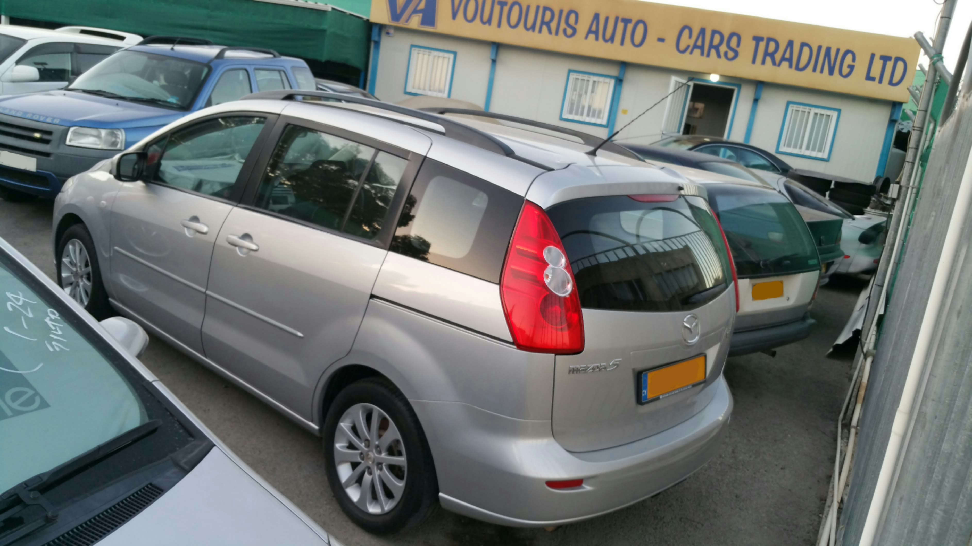 Mazda 5, Voutouris Used Cars Cyprus