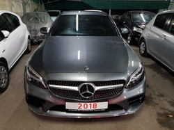 Mercedes C300 2018 Grey 03