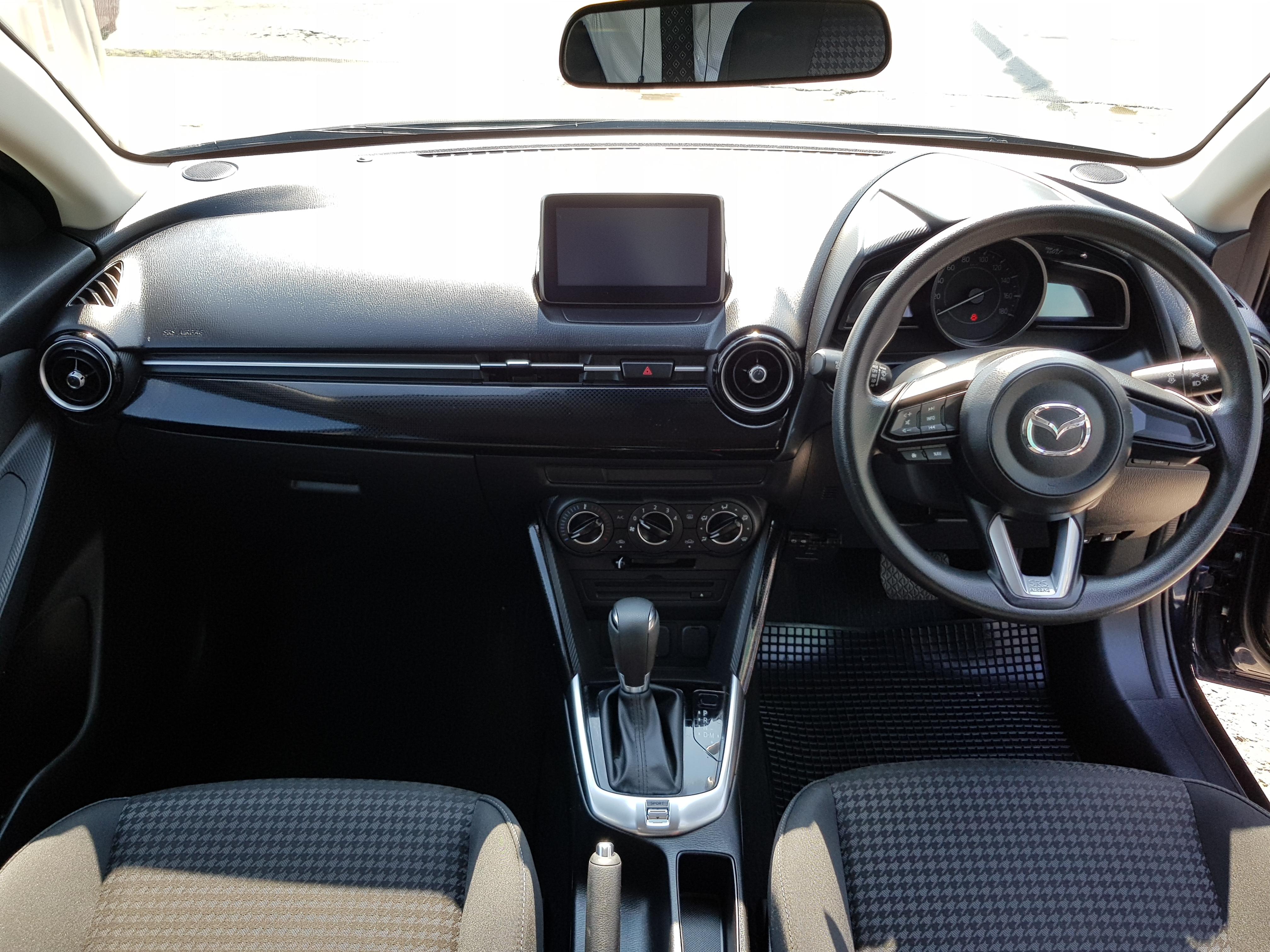 Mazda Demio Dark Blue 07