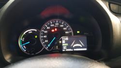 Toyota Vitz Hybrid White Pearl 06