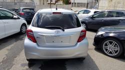 Toyota Vitz Silver 03